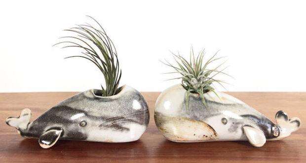 Милые вазы ручной работы в виде животных от Yoshiko Kozawa