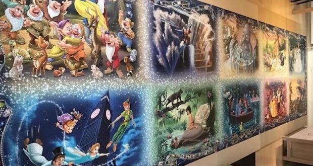 Самый большой пазл в мире, посвящённый героям Disney