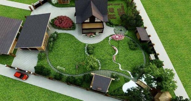 Ландшафтный дизайн от компании «ПозитивПроект»