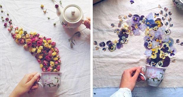 Марина Малиновая и её яркий проект Цветочный Рай