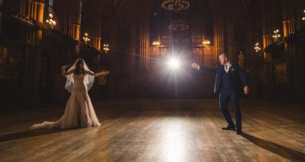 Волшебная свадьба Lewis и Cassie Byrom, вдохновлённая магическим миром книг о Гарри Поттере