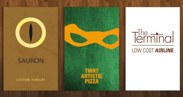 Смешные открытки с изображением известных персонажей поп-культуры в проекте Benedetto Papi и Edoardo Santamato