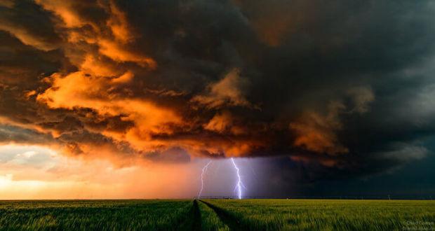 Завораживающая съёмка грозовых бурь в проекте Fractal фотографа Chad Cowan