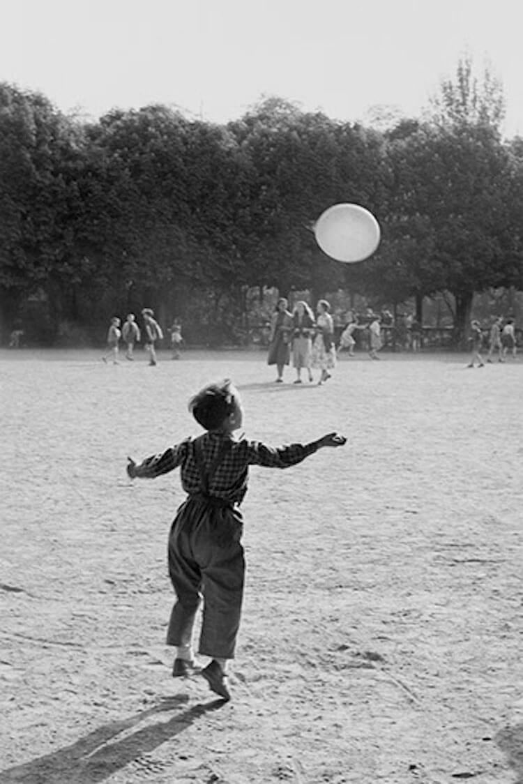 Послевоенный Париж в фотографиях Sabine Weiss