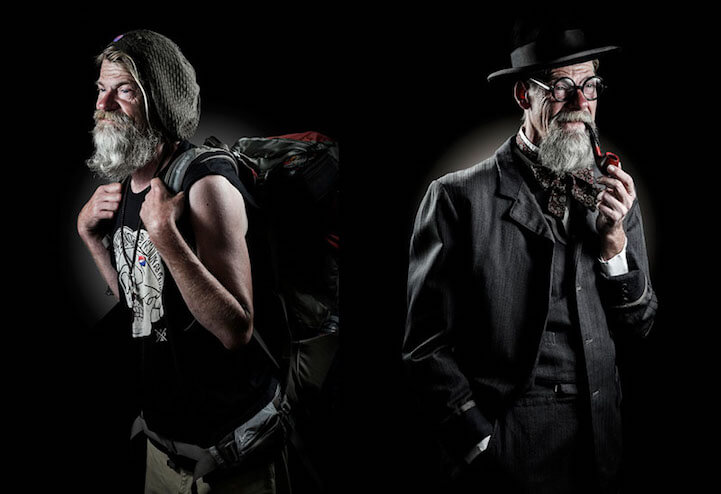 Фотопроект Хория Манолаче (Horia Manolache)  - «The Prince and the Pauper»