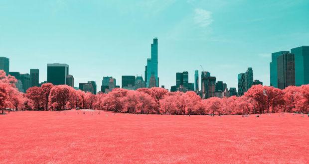 Инфракрасная съемка Нью-Йорка фотографа Паоло Неттигиани (Paolo Pettigiani)