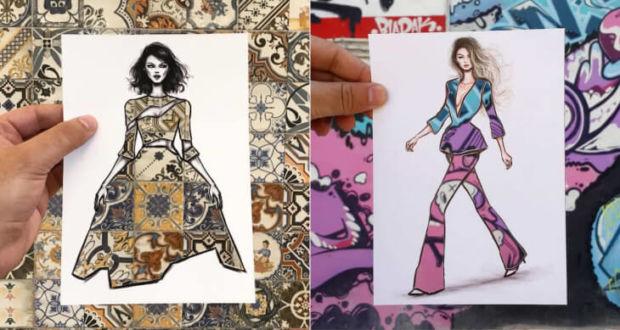 fashion-иллюстратор из Иордании Шамек Ал Блуви (Shamekh Al-Bluwi)