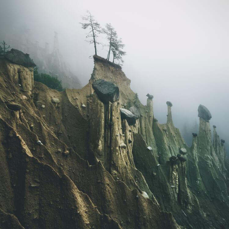 Земляные пирамиды - удивительные снимки фотографа и географа Kilian Schönberger (Килиан Шонбергер)