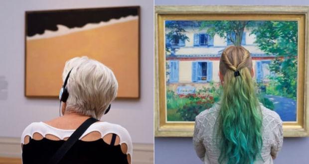 Фотопроект People Matching Artworks от Stefan Draschan