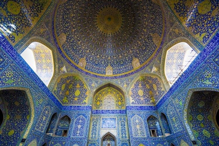 Иранские мечети в фотографиях James Longley (Джеймс Лонгли)
