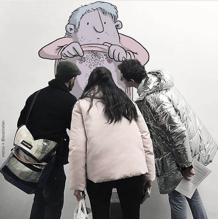 Смешные иллюстрации от Lucas Levitan (Лукас Левитан)
