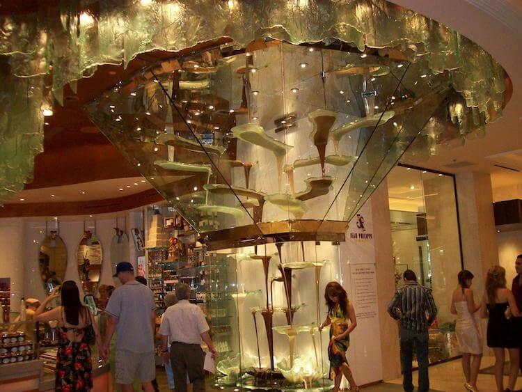 Шоколадный фонтан Белладжио